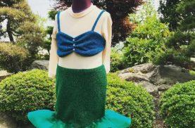 110cmサイズのマーメイドの服オーダーメイド