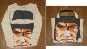 長袖Tシャツを手提げバッグにリメイク